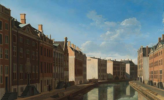 Gouden bocht in de herengracht- Gerrit Berckheyden