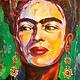Frida op Textieldoek