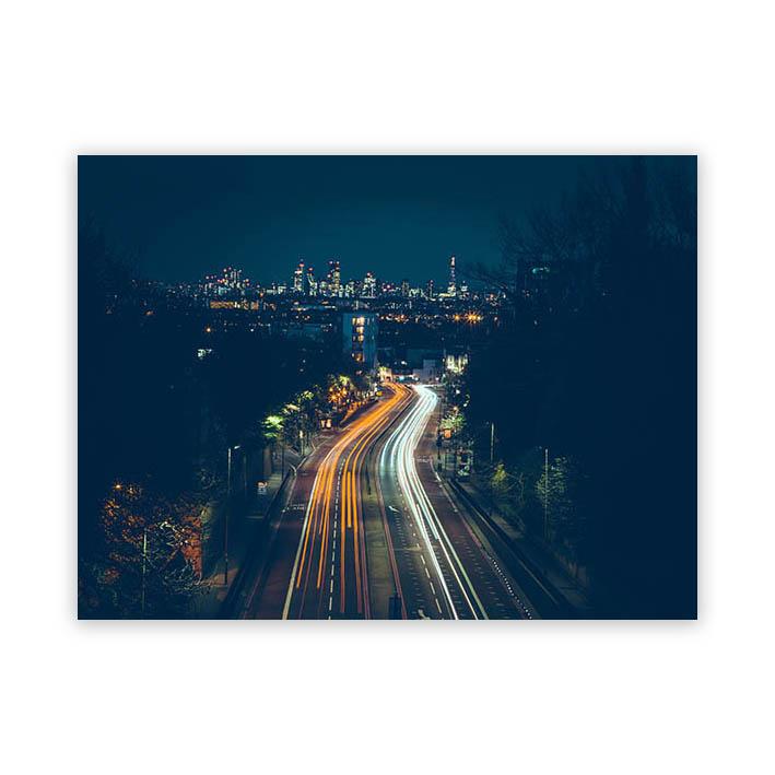 City op plexiglas