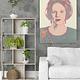 Portret Beatrix - Andy Warhol op Dibond