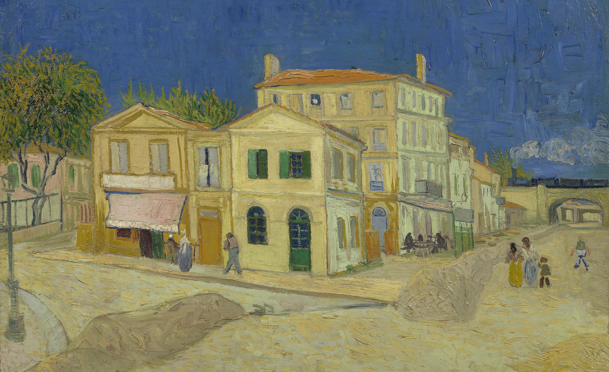 Het gele huis - Van Gogh