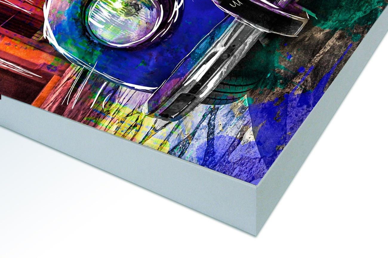 Bloeiend Amandeltakje - Van Gogh op Textieldoek