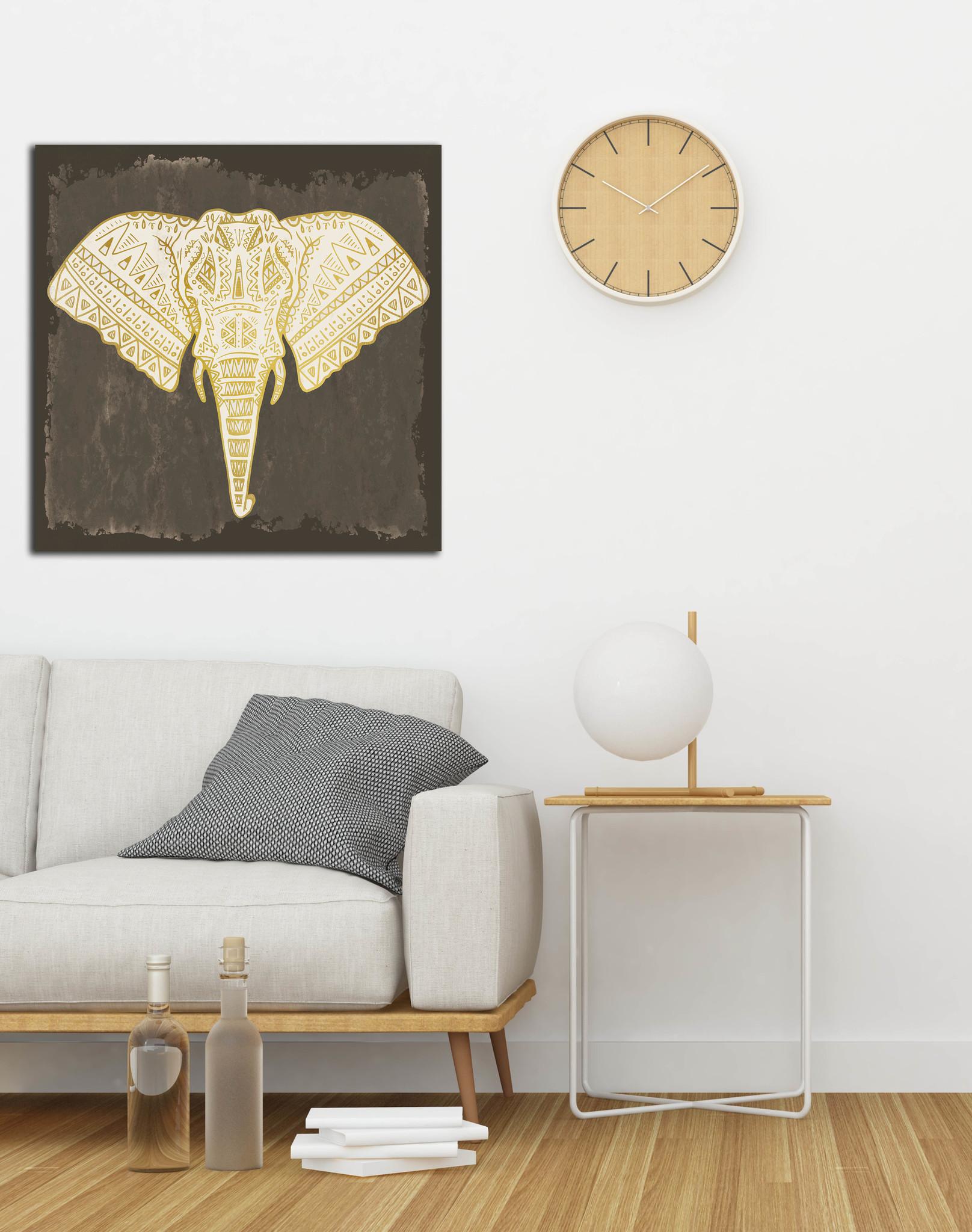 Olifant Pattern op Textieldoek