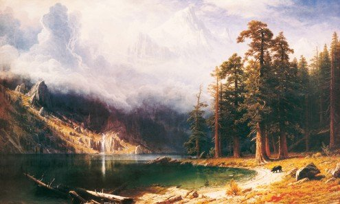 Mount Corcoran | 50 x 83 cm | Photo satin paper