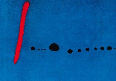 Bleu II   100 x 70 cm   Photo satin paper