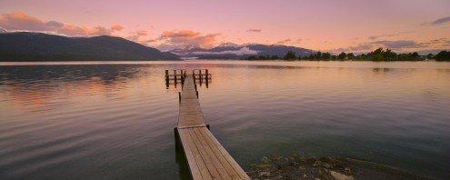 Lake Te Anan | 80 x 32 cm | Photo satin paper