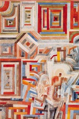 Palace partially destroyed | 60 x 80 cm | natuurpapier (structuur)