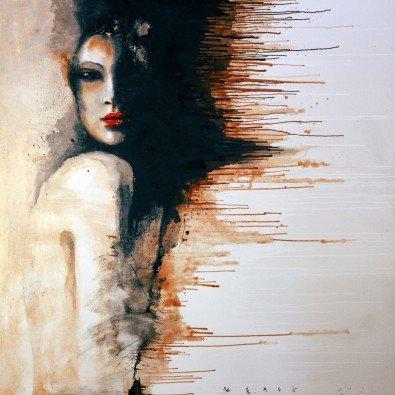 Hete Chocolade | 110 x 110 cm | Canvas doek