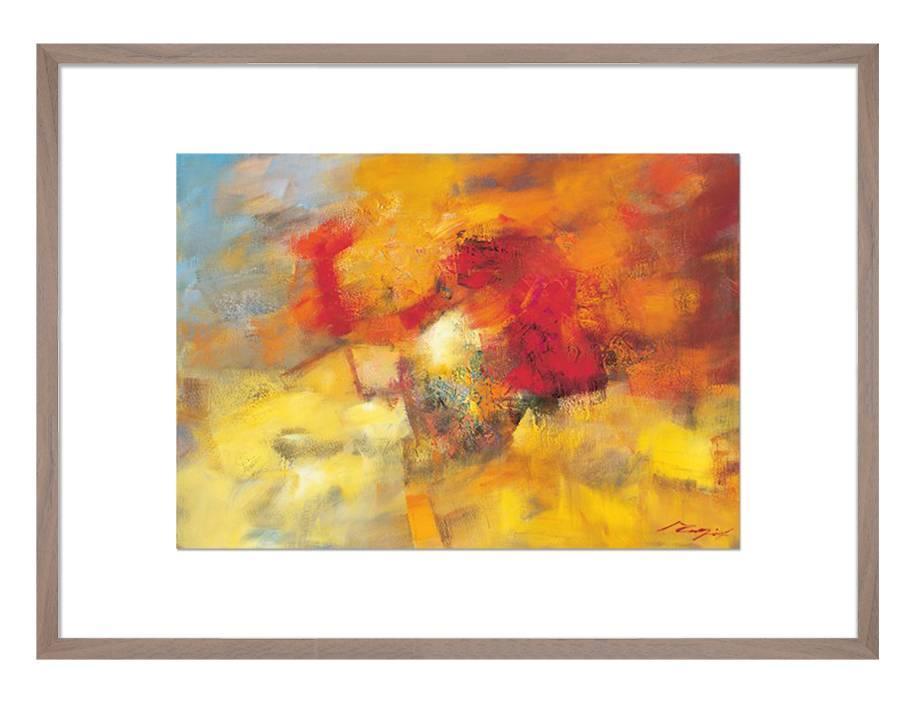 Coloring II | 70 x 55 cm | Natuurpapier (structuur)