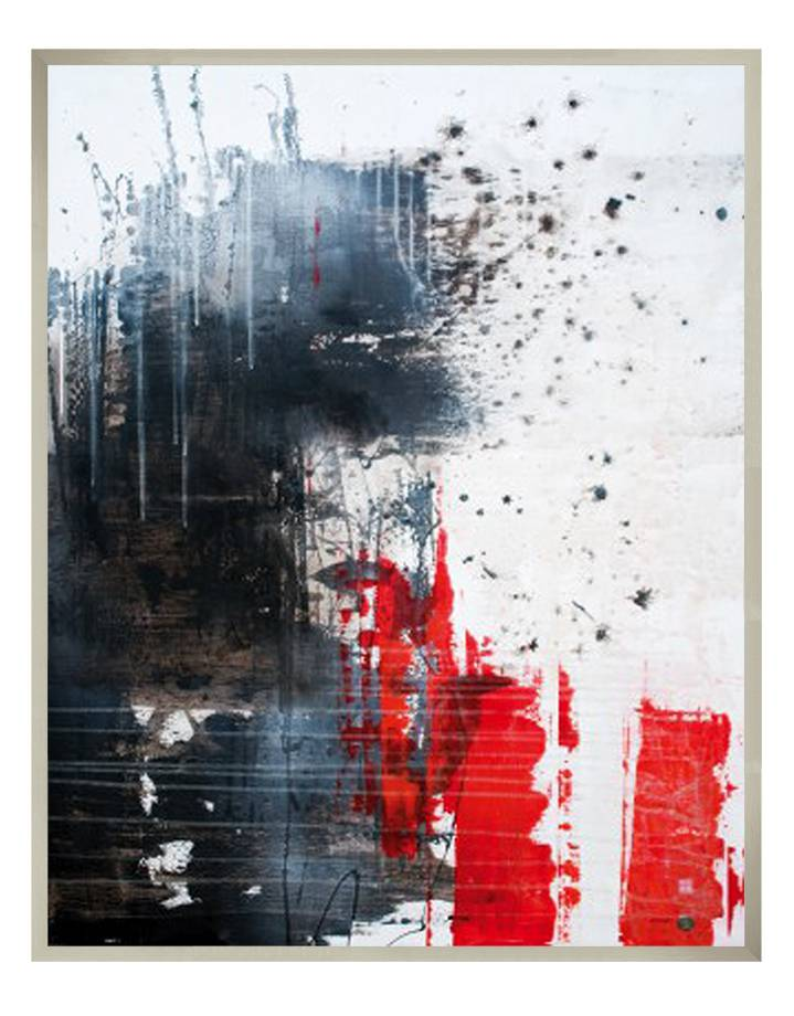 composition of pieces | 80 x 100 cm | Photo satin paper