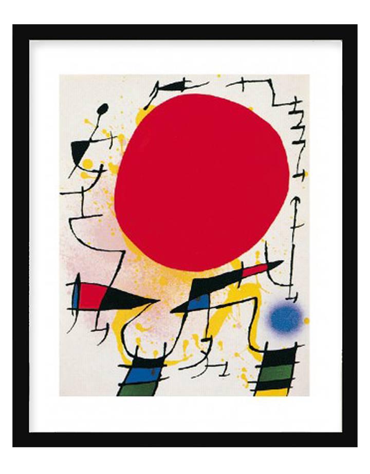Le soleil rouge   40 x 50 cm   Photo satin paper
