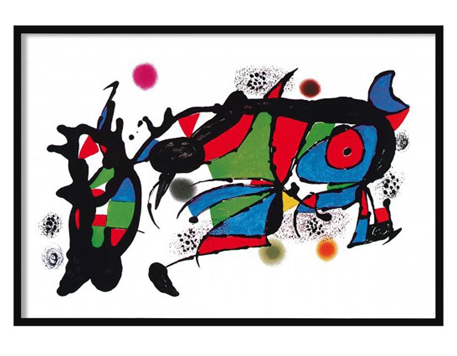 Obra de Joan Miro | 100 x 70 cm | Photo satin paper