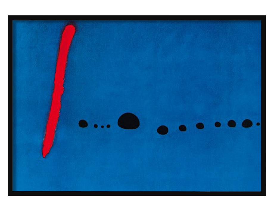 Bleu II | 100 x 70 cm | Photo satin paper