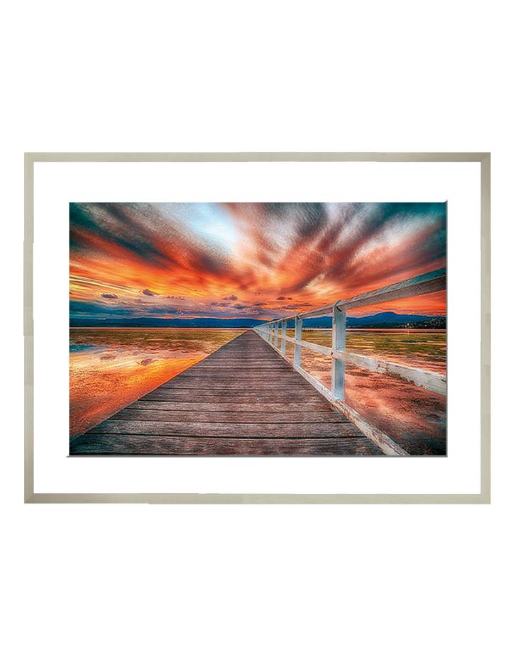 Primbee Wharf | 85 x 64 cm | Photo satin paper