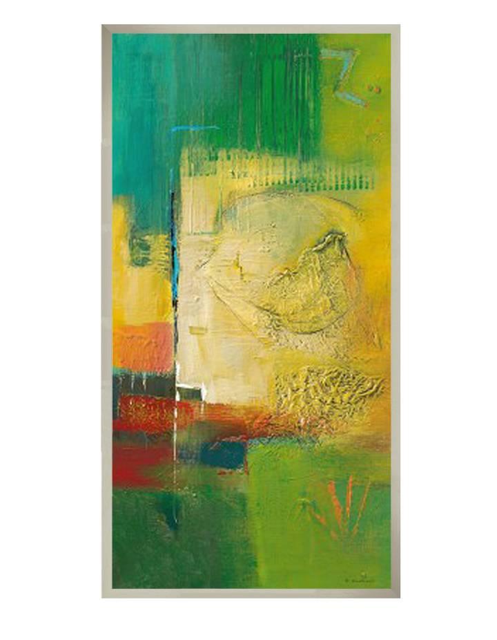 Springtime I | 51 x 101 cm | Natuurpapier