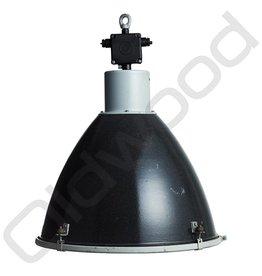 Industriële lampen - Basic met glas - zwart
