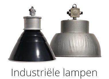 Industriële lampen / oude fabriekslampen