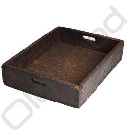 Wooden storage bin