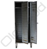 Industrial locker two-door