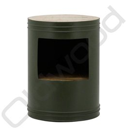 By-Boo Side table Barrel - Green