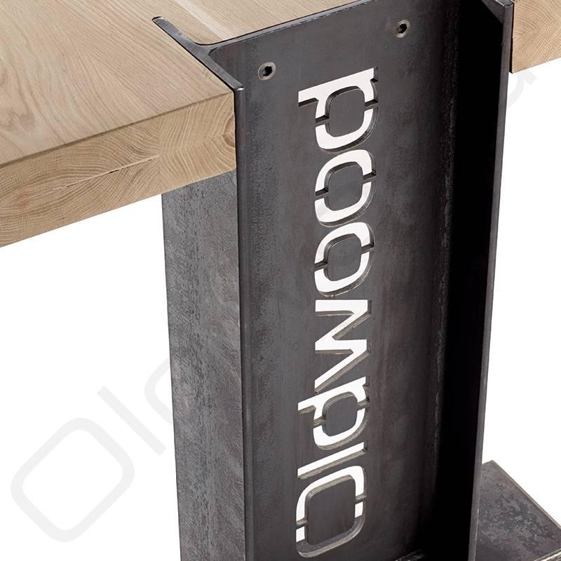 Eiken houten tafel - Helsinki
