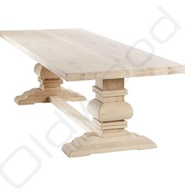 Oak wooden table - Paris