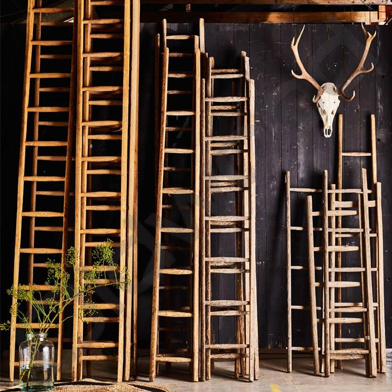 Robuuste Houten Ladder.Ladder Middel Oldwood De Woonwinkel Oldwood De Woonwinkel