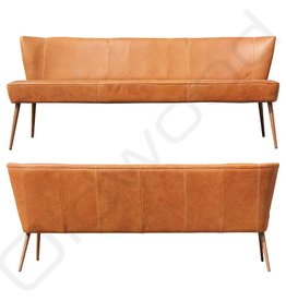 Dining room sofa - Dolly in leather