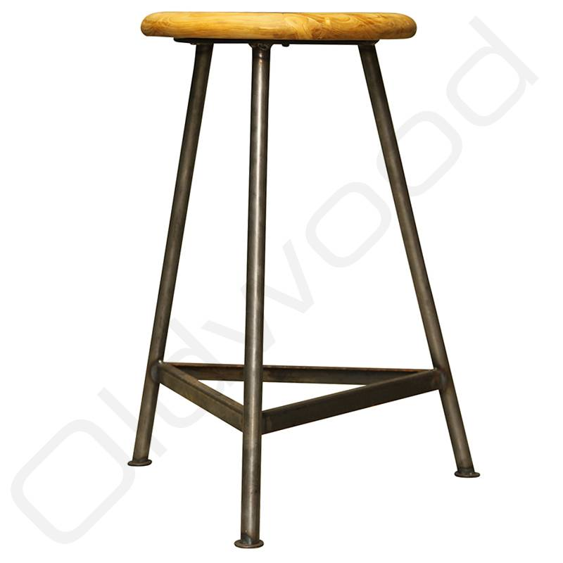 Industrial vintage studio stool