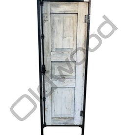 Barnwood industrial locker