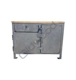 Industrieel meubel Industriële kookeiland
