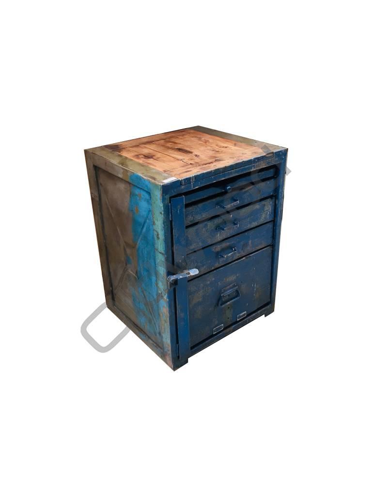 Industrieel meubel Industriële dressoir/werkbank