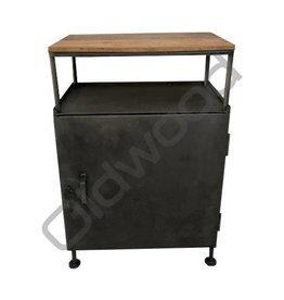Industrieel meubel (Verkocht)Industrieel locker kastje
