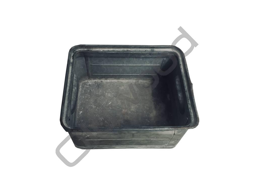 Industrieel accessoire Industriële metalen magazijnbak