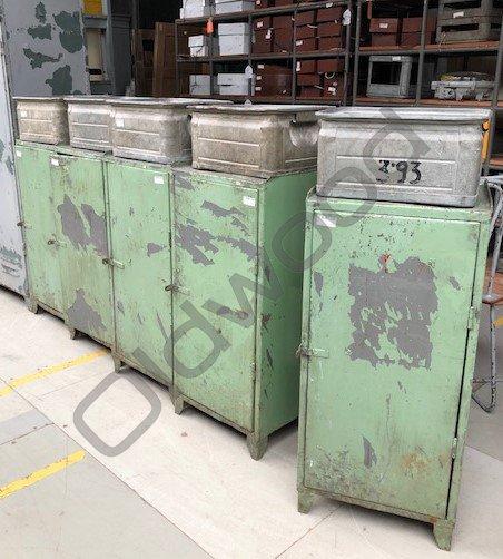 Industrieel meubel Industriële locker
