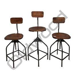 Industrieel meubel Ateliers kruk