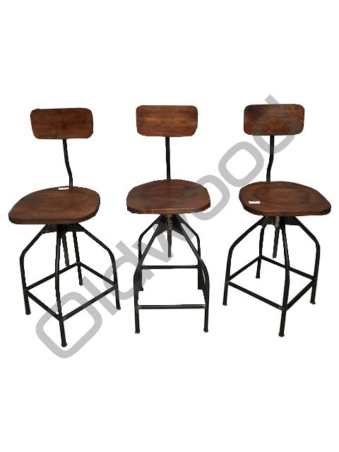Industrieel meubel Verstelbare ateliers krukken