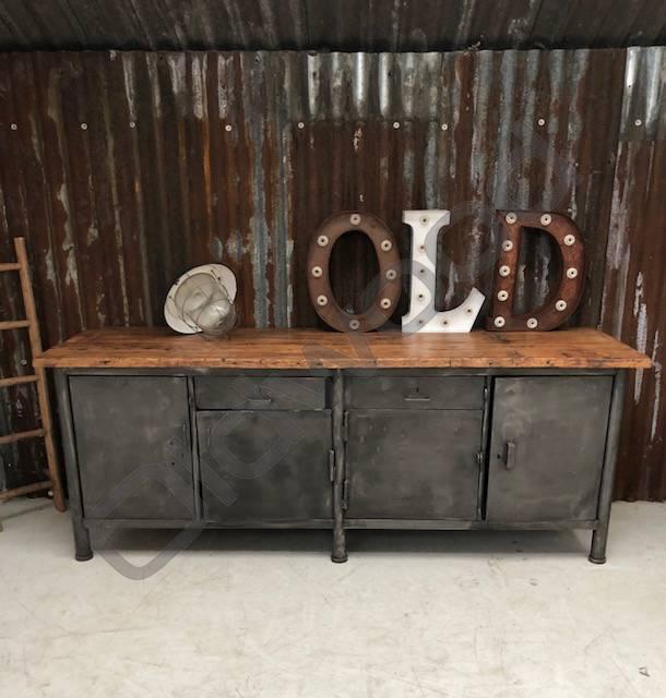 Industrieel meubel Industriële werkbank/dressoir