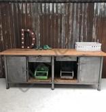 Industrieel meubel Stoere kookeiland/dressoir