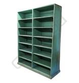 Industrieel meubel Groene stellingkast
