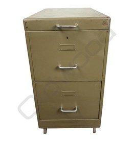 Industrieel meubel (Verkocht) Archiefkast