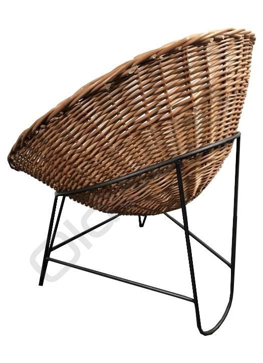 Industrieel meubel Bonacina retro stoel
