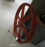 Industrieel accessoire Vintage tandwielen