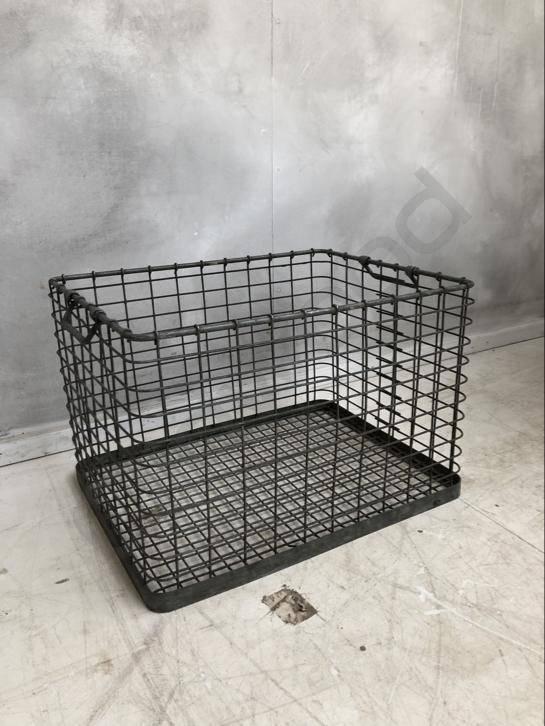 Industrieel accessoire Iron wire basket