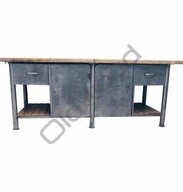 Industrieel meubel (Verkocht)Industriële dressoir