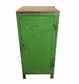 Industrieel meubel Groene locker