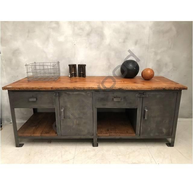 Industrieel meubel Stoere dressoir/kookeiland