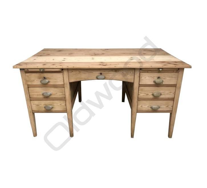 Houten bureau (verkocht)