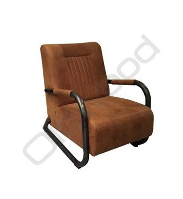 Coffeechair - Barn leather rust