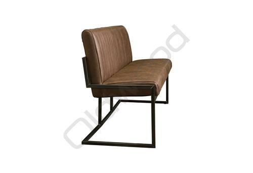 Ferro bench 185 dark brown